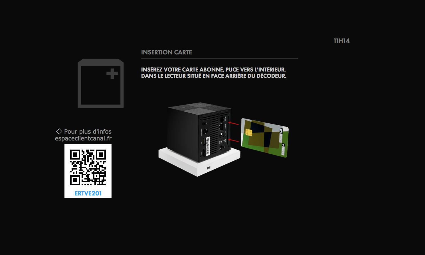confirmation message ecran cube s d pannage espace client. Black Bedroom Furniture Sets. Home Design Ideas